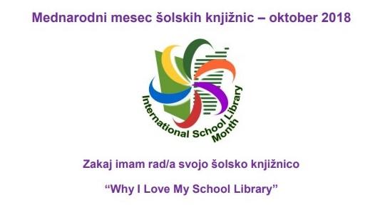 Mednarodni mesec šolskih knjižnic