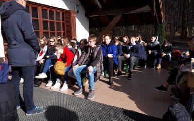 Utrinki iz šole v naravi – 8. razred (slike)